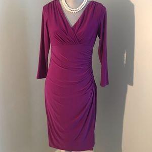 Fushia Ralph Lauren Dress